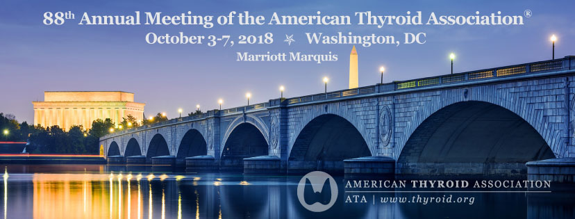 88th Annual Meeting of the ATA | American Thyroid Association