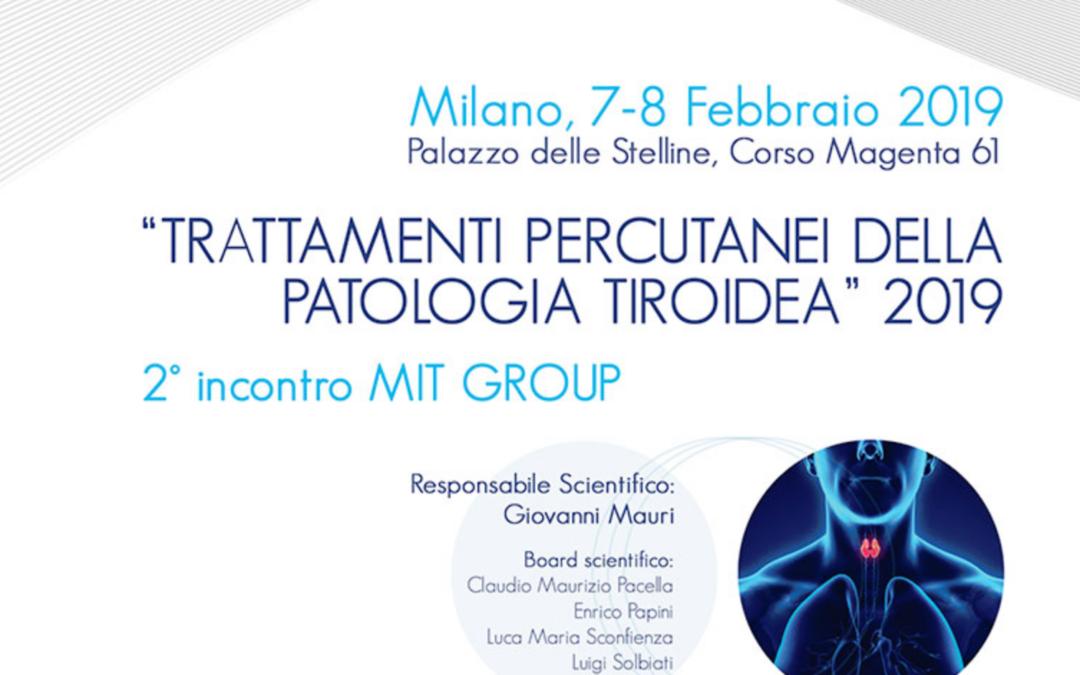 Trattamenti Percutanei della Patologia Tiroidea – 2019